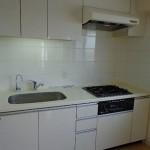 ガス3口システムキッチン 浄水器(キッチン)