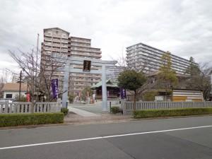 浅間神社(亀戸9-8)①