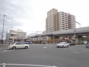 東大島駅(大島口)駅前交差点