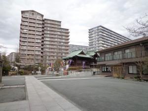 浅間神社(亀戸9-8)②