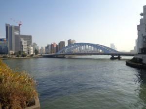 豊海橋からの景色