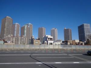 佃大橋からの景色①