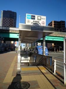 月島駅5番出口