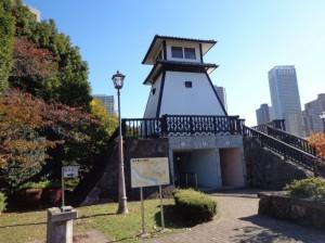 佃公園 佃島と石川島の灯台