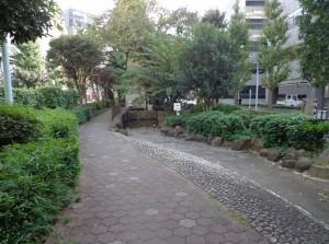 浜町緑道公園③