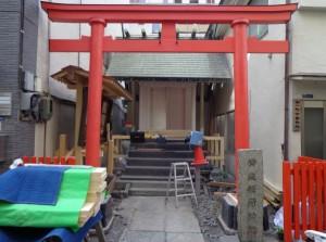 常盤稲荷神社②