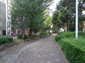 浜町緑道公園④