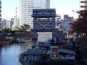 月島川水門