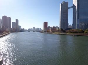 佃大橋からの景色②
