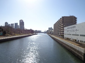 八枝橋からの景色