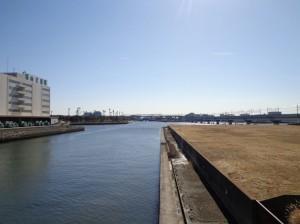 砂潮橋からの景色