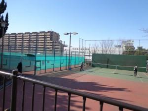 潮見運動公園 潮見テニス場