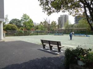 豊住公園 ゲートボール場