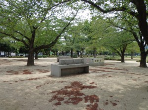 木場公園 バーベキュー広場②