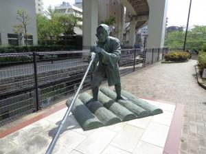 木場の角乗りの像②