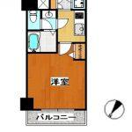 メゾン・ド・ヴィレ日本橋浜町 3階部分 平面図(間取)